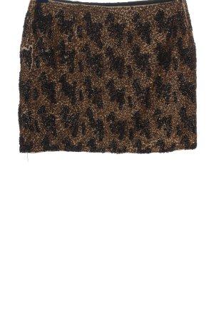 Zara Woman Minirock mehrfarbig Casual-Look