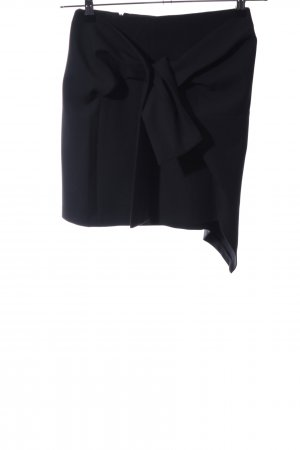 Zara Woman Minirock schwarz Business-Look