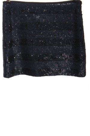 Zara Woman Minirock blau Elegant