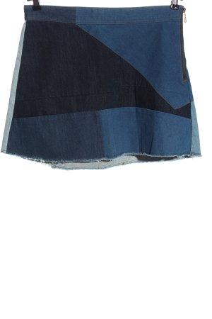 Zara Woman Miniskirt blue casual look