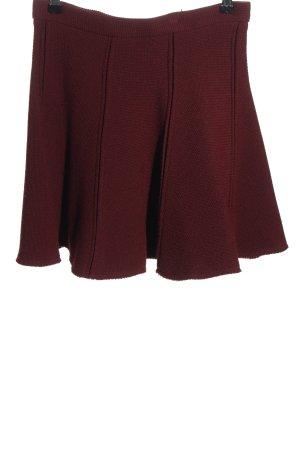 Zara Woman Minirock rot Casual-Look