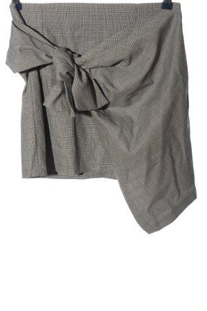 Zara Woman Minirock hellgrau Allover-Druck klassischer Stil