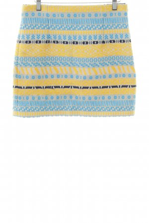 Zara Woman Minirock abstraktes Muster Casual-Look