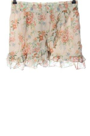 Zara Woman Minirock Allover-Druck Casual-Look