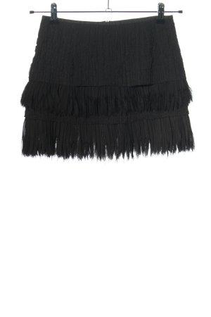 Zara Woman Minirock schwarz Party-Look