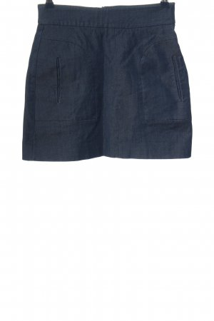 Zara Woman Minirock blau Casual-Look