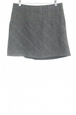 Zara Woman Minirock Glencheckmuster Casual-Look