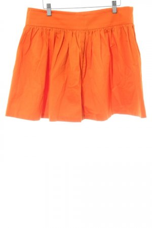 Zara Woman Minirock orange Casual-Look