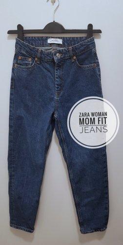 zara Woman Mom Fit Jeans