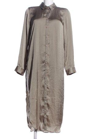 Zara Woman Morgenmantel bronzefarben Blumenmuster Casual-Look