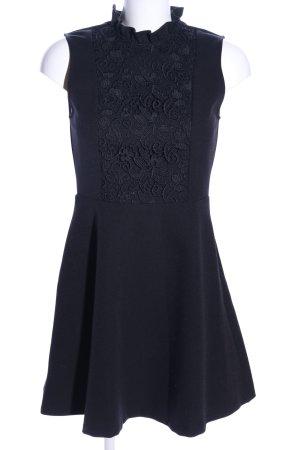 Zara Woman Neckholderkleid schwarz Elegant