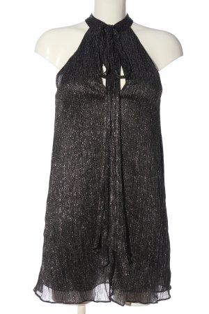 Zara Woman Neckholdertop schwarz Elegant