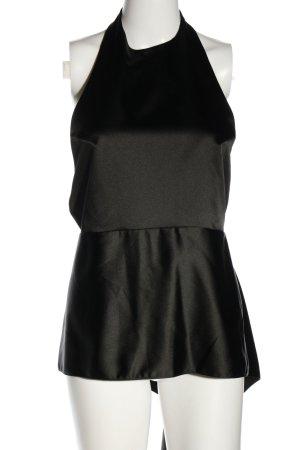 Zara Woman Top senza maniche nero stile casual