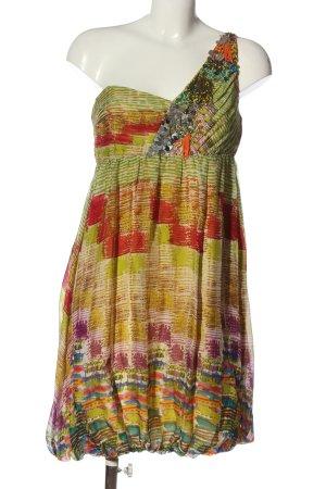 Zara Woman One-Shoulder-Kleid Mustermix Casual-Look
