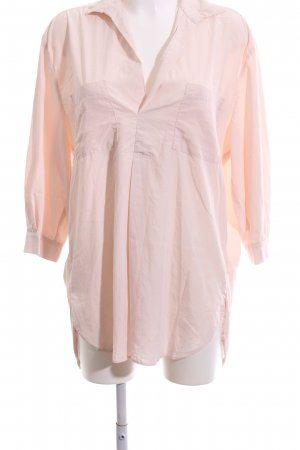 Zara Woman Oversized Bluse creme Business-Look