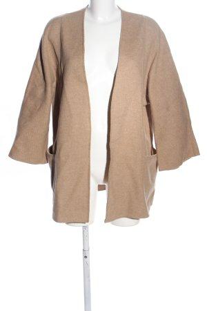 Zara Woman Oversized Mantel nude Casual-Look
