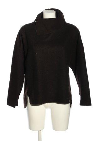 Zara Woman Oversized Pullover schwarz Casual-Look