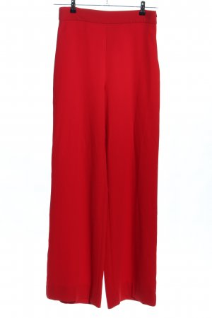 Zara Woman Pallazzohose rot Business-Look