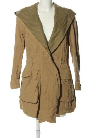 Zara Woman Parka bruin-khaki casual uitstraling