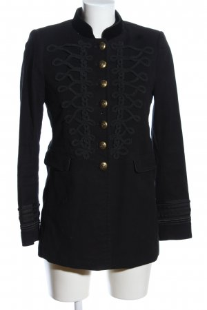 Zara Woman Caban noir style décontracté