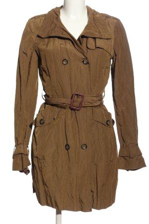 Zara Woman Pea Coat brown casual look