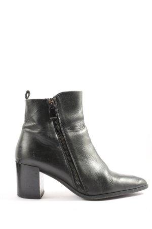 Zara Woman Bottines à plateforme noir style d'affaires