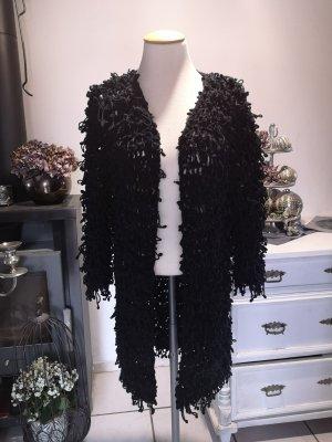 Zara Woman Plüschmantel für den Herbst Plüschjacke Gr S Mantel Wintermantel Übergang Jacke kuschlig Plüsch Basic