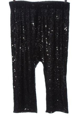 Zara Woman Pantalon large noir élégant