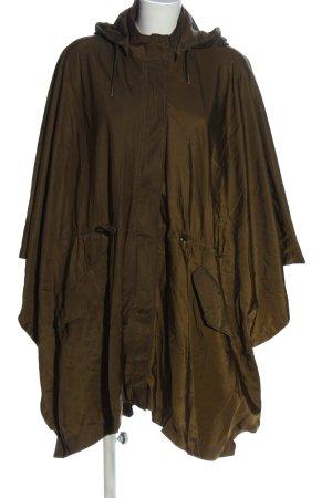 Zara Woman Płaszcz przeciwdeszczowy khaki W stylu casual
