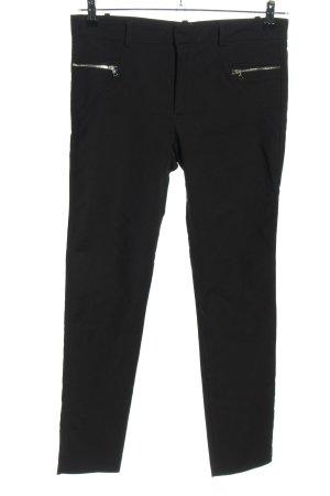 Zara Woman Drainpipe Trousers black casual look