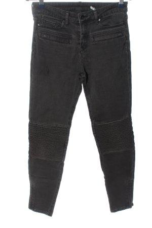 Zara Woman Tube Jeans black casual look