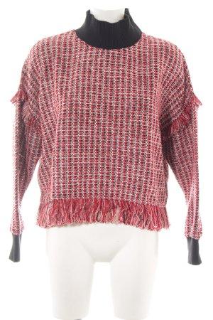 Zara Woman Rollkragenpullover meliert Casual-Look