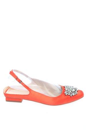 Zara Woman Sabot arancione chiaro stile casual