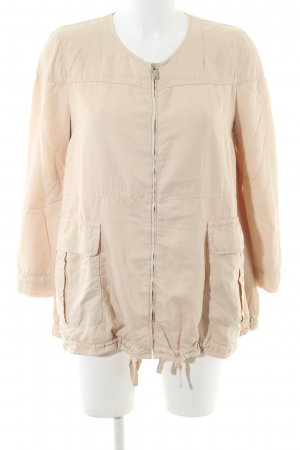 Zara Woman Safarijacke wollweiß Casual-Look