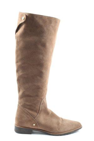 Zara Woman Kaplaarzen bruin casual uitstraling
