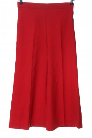 Zara Woman Pallazzohose rot Casual-Look