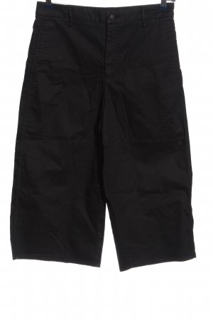 Zara Woman High-Waist-Shorts schwarz Casual-Look