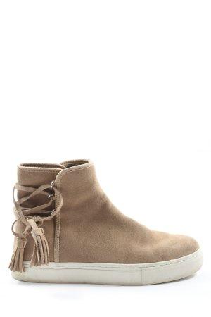 Zara Woman Schlüpfschuhe creme Casual-Look