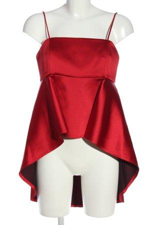 Zara Woman Schlupf-Bluse rot Elegant