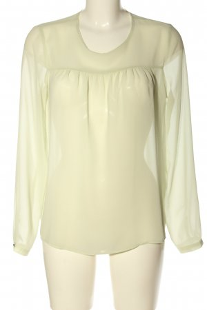Zara Woman Schlupf-Bluse wollweiß Elegant