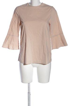 Zara Woman Schlupf-Bluse creme Business-Look