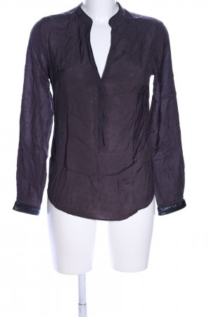 Zara Woman Schlupf-Bluse lila Business-Look