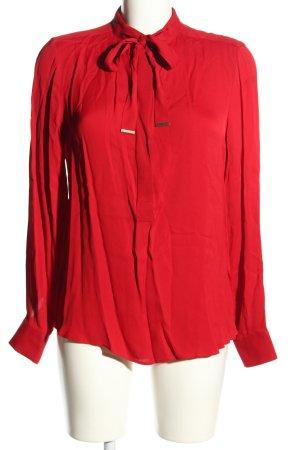 Zara Woman Schluppen-Bluse rot Casual-Look