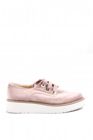 Zara Woman Lace Shoes multicolored casual look