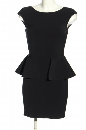 Zara Woman Peplum Dress black business style