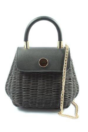 Zara Woman Schultertasche schwarz Casual-Look