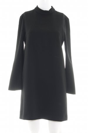 Zara Woman Shirtkleid schwarz Business-Look