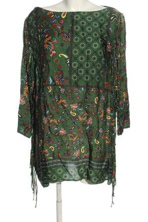 Zara Woman Tunika Na całej powierzchni W stylu casual