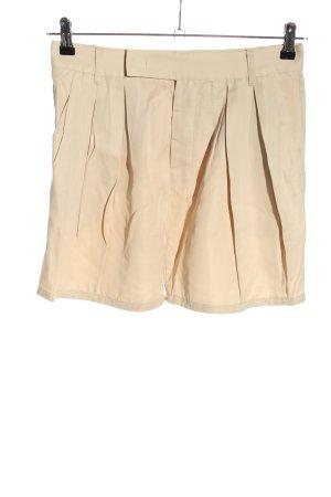 Zara Woman Shorts wollweiß Casual-Look