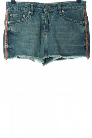 Zara Woman Shorts blau Casual-Look